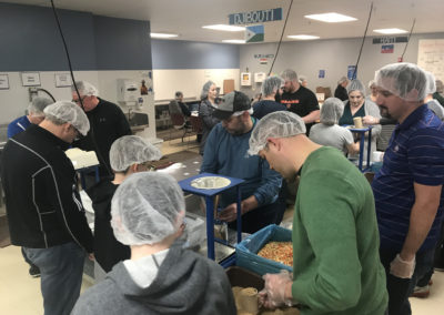 Feed My Starving Children Volunteer Event 2019