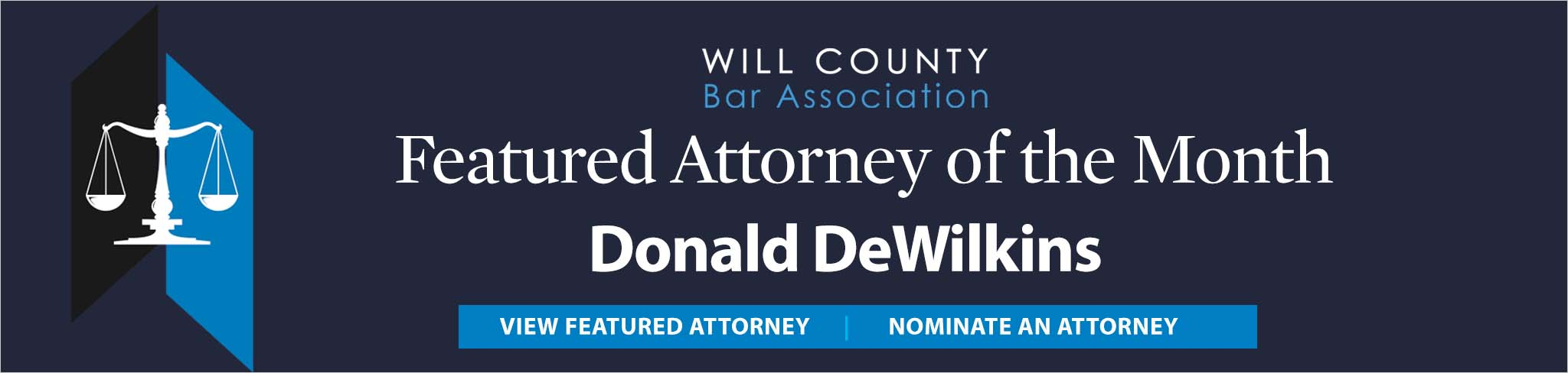 Feature Attorney of the Month Donald DeWilkins Sept. 2021
